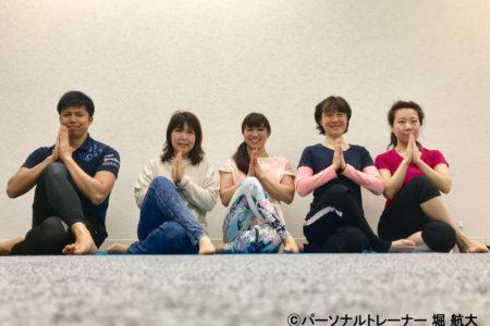 【活動報告】トレーニング×ヨガ イベント開催しました!