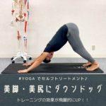 ◆【体づくりの必須ストレッチ】Yogaのダウンドッグをマスターすべし!